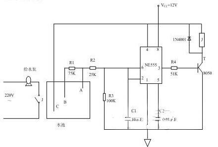 水位自动控制器在水塔应用中的设计